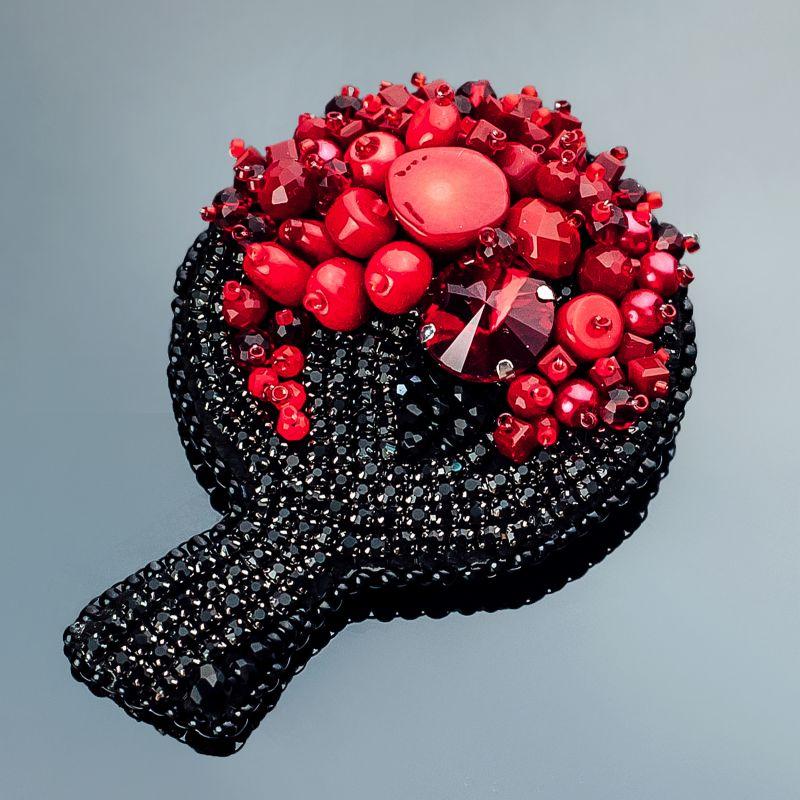 Коралловое деревце. Коралл хрусталь Красный Коралл натуральный, ювели Панчук Ирина - фото 1