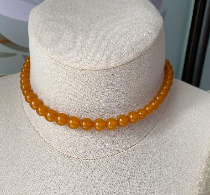 Ожерелье янтарное Оранжевый Янтарь Подгурская Леся - фото 5
