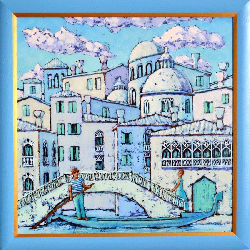 Мечты о Венеции  Холст, масло Радаева Елена - фото 2