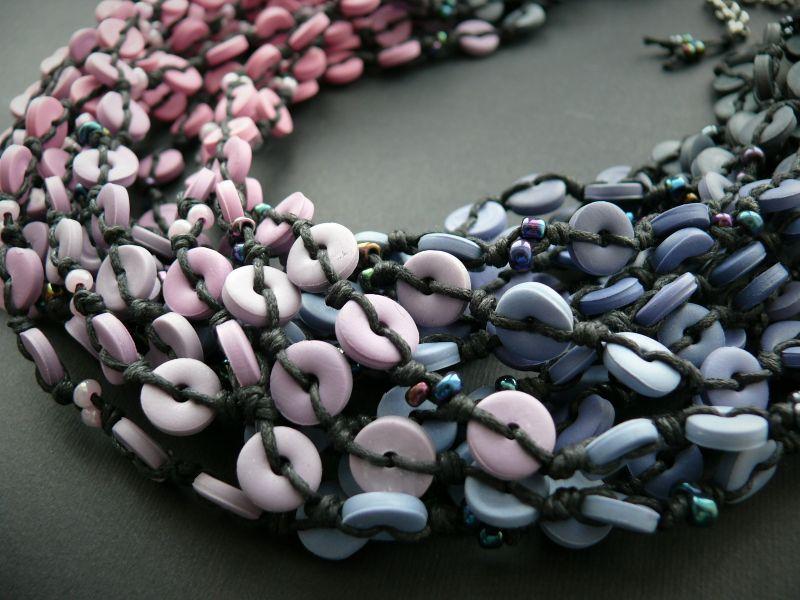 Зимний рассвет Голубой полимерная глина, вощеный Рыбий Христина - фото 2