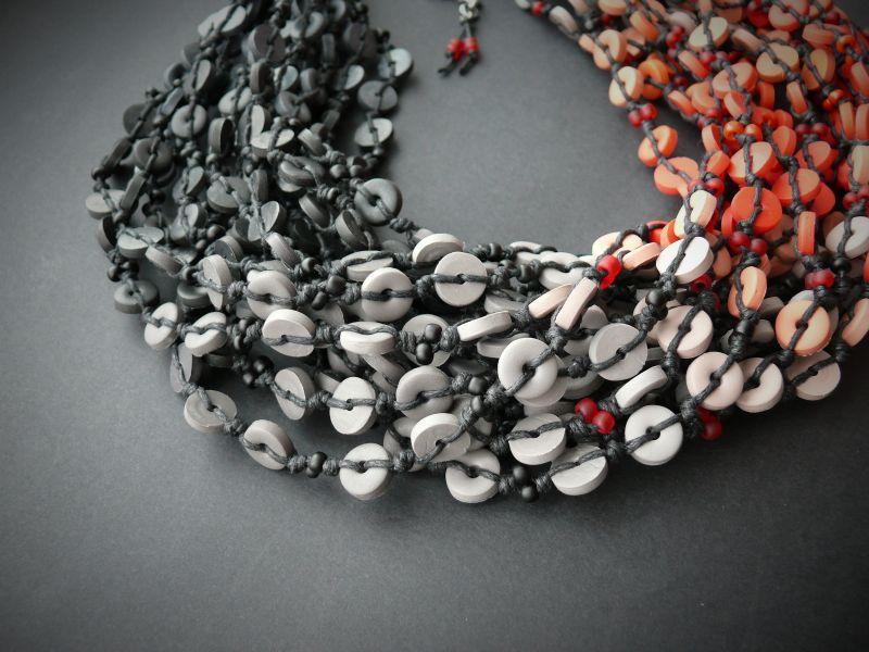 Пламя Разноцветный полимерная глина, вощеный Рыбий Христина - фото 4