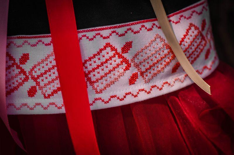 Детская вышиванка Черный 100% хлопок, мулине, крож Рябчун Юлія - фото 5