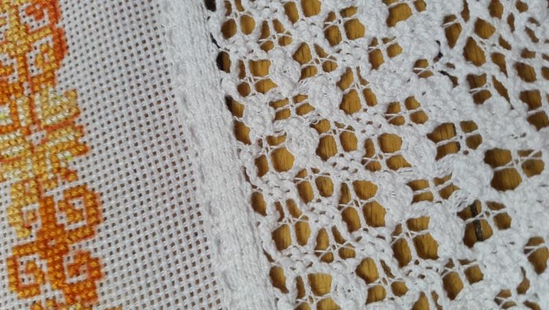 Рушнык Пасхальный  Хлопковое кружево, ручная Рябчун Юлія - фото 3