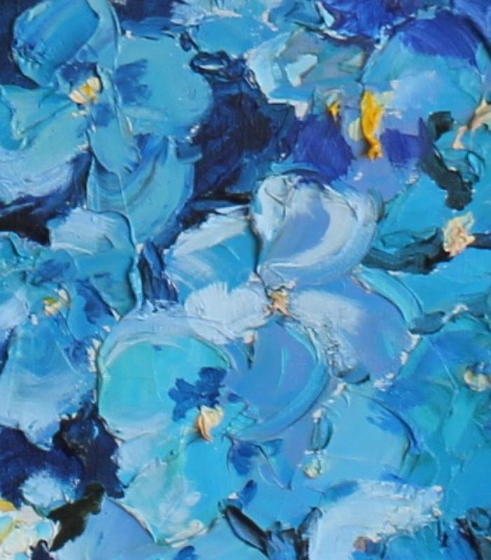Цветы  холст, масло, лак Рыбалка Анна - фото 2