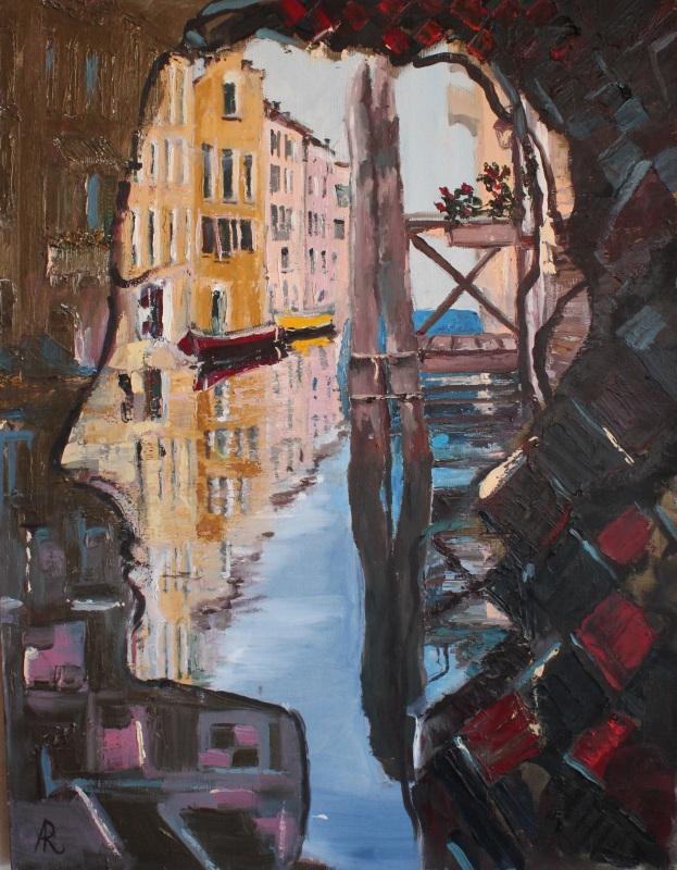 Лицо Венеции  холст, масло, лак Рыбалка Анна - фото 1