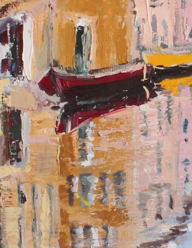 Лицо Венеции  холст, масло, лак Рыбалка Анна - фото 2