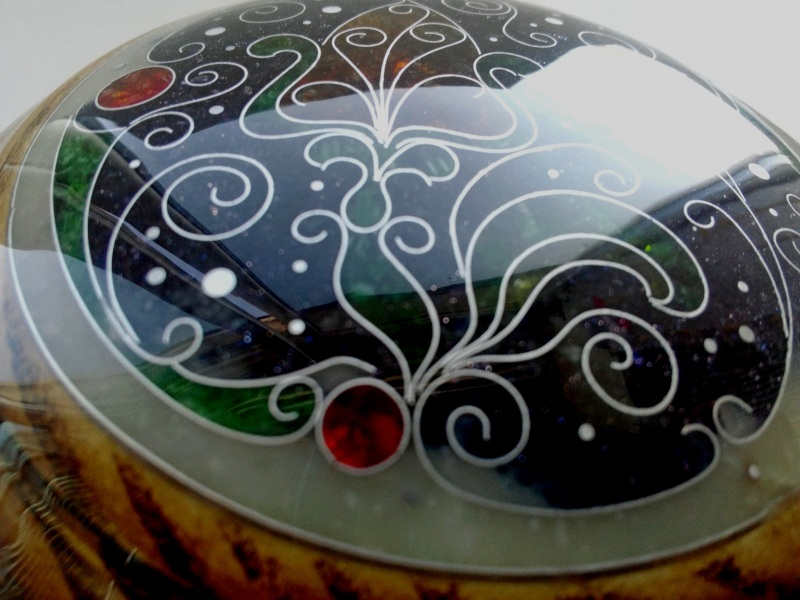 Шкатулка  ясень, мрамор, авантюрин, Шарапов Александр - фото 5