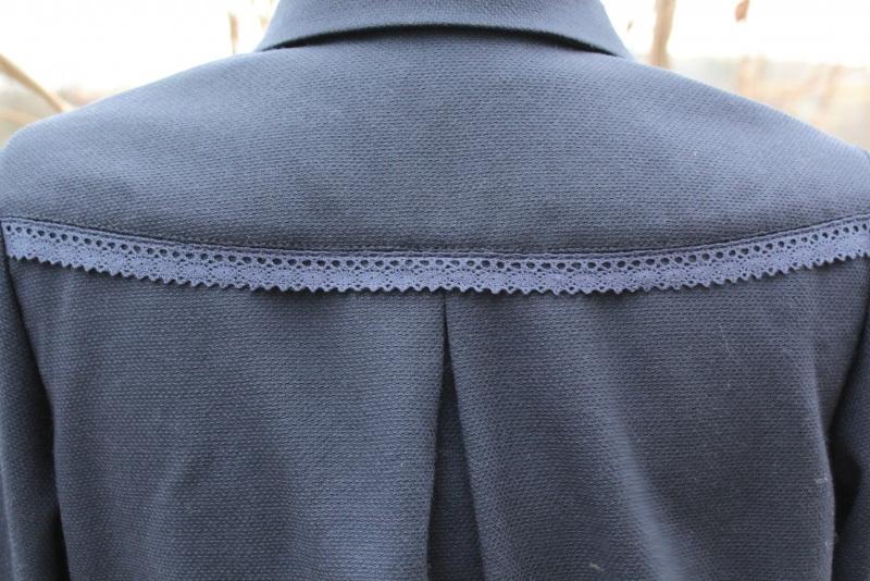 Блуза Черный шерсть с полиэстером Снеда Ольга - фото 4