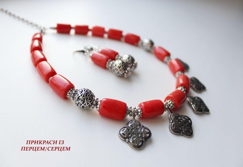 Вышиваемые сны  (корал, мельхіорові хрест Сёма Роксолана - фото 5