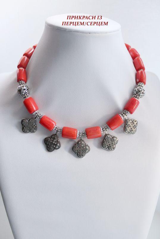 Вышиваемые сны  (корал, мельхіорові хрест Сёма Роксолана - фото 2
