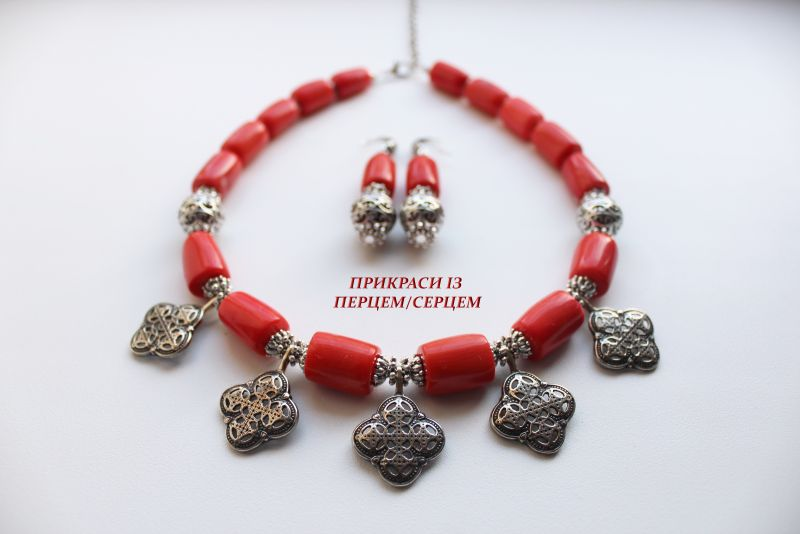 Вышиваемые сны  (корал, мельхіорові хрест Сёма Роксолана - фото 4