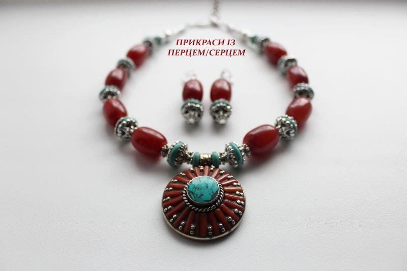 Цинамоновое небо Красный (Агат, говлит, дармовис, Сёма Роксолана - фото 4