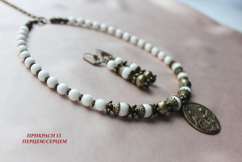 Святое семейство Белый (Коралл, латунный богач р Сёма Роксолана - фото 5