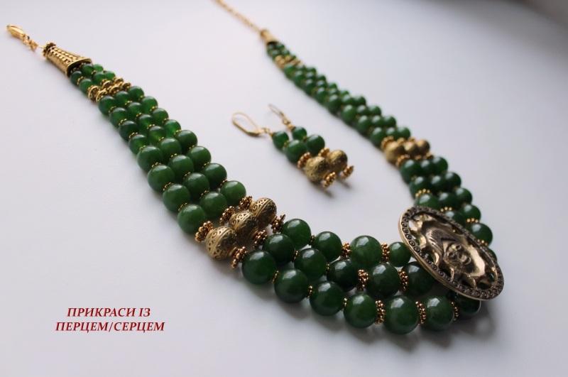 Орден Солнца Зеленый (Тайваньский нефрит, лату Сёма Роксолана - фото 3