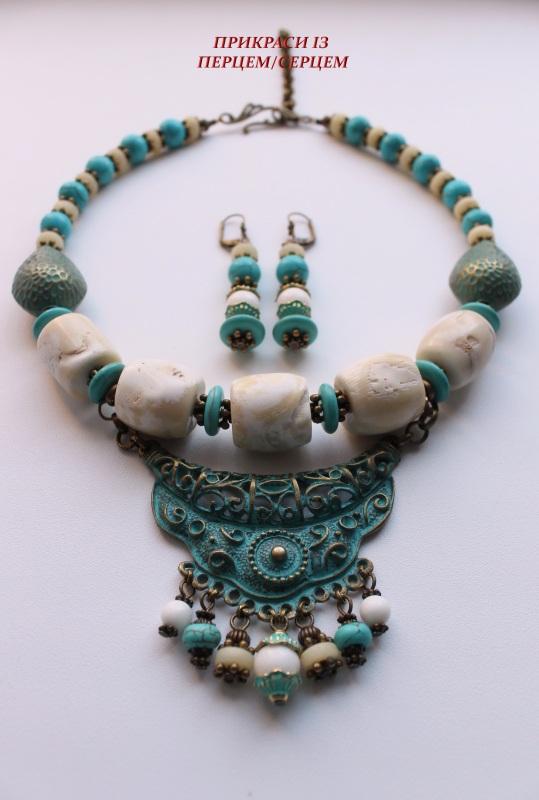 Ая-София  (Коралл, говлит, кость, м Сёма Роксолана - фото 2