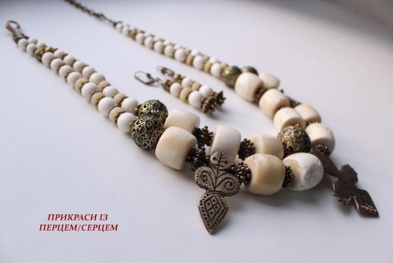 Мокоша  (Коралл, кость, авторские Сёма Роксолана - фото 3
