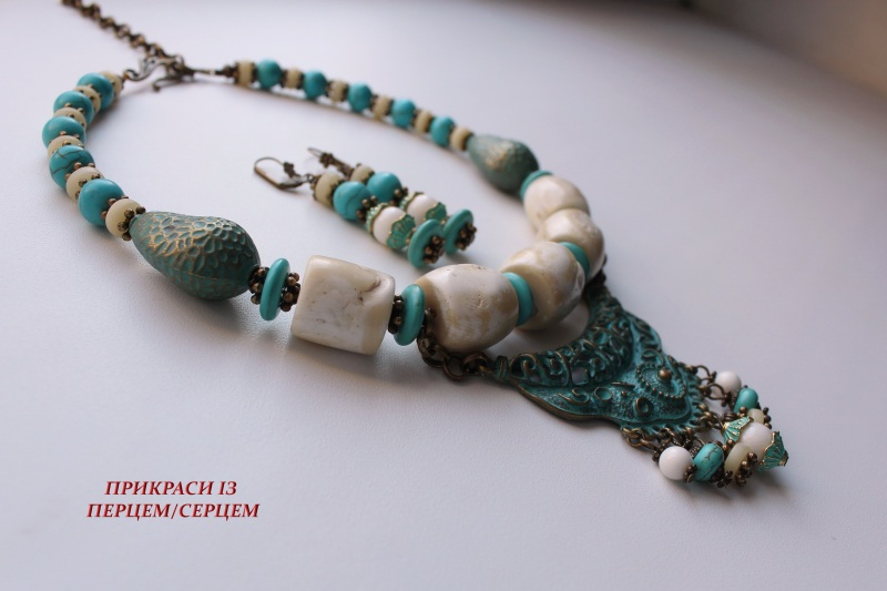 Ая-София  (Коралл, говлит, кость, м Сёма Роксолана - фото 3