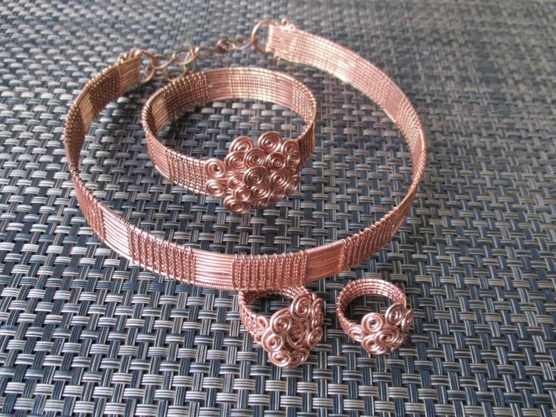 Кольцо К22  медь лакированная Стадник Юлия - фото 2