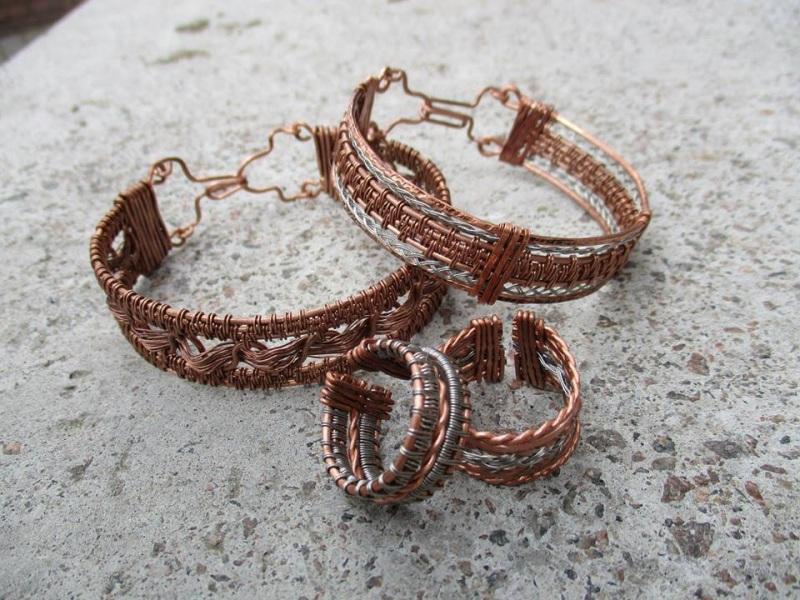 Кольцо  медь, сталь Стадник Юлия - фото 3