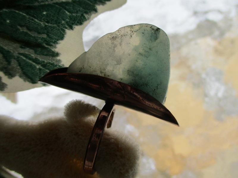 Кольцо Парус Голубой амазонит, медь Стадник Юлия - фото 1