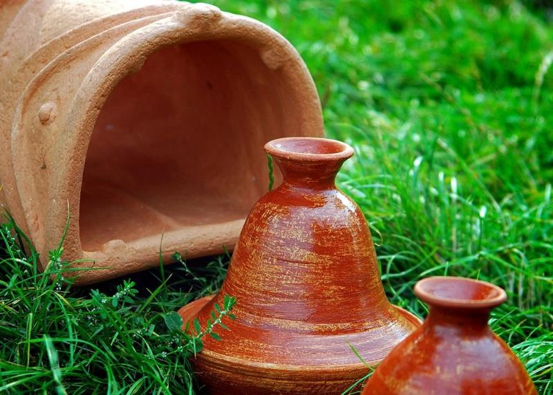 Садовая печь - скульптура Коричневый керамика Стаховский Дмитрий - фото 5