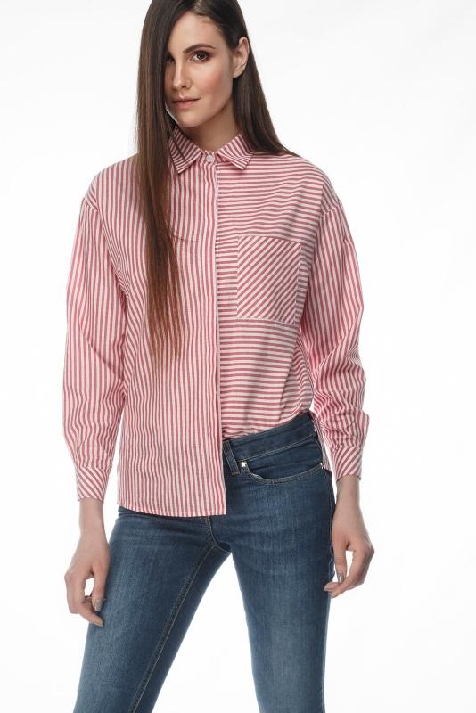 Рубашка Студио Розовый коттон ТМ Берегиня - фото 1