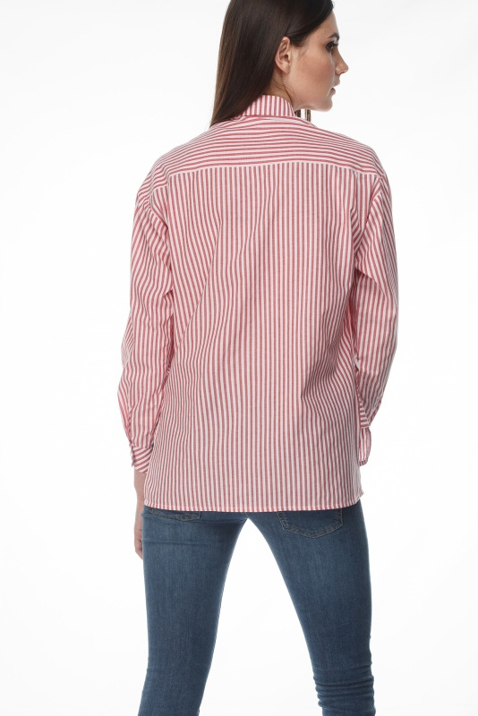 Рубашка Студио Розовый коттон ТМ Берегиня - фото 2