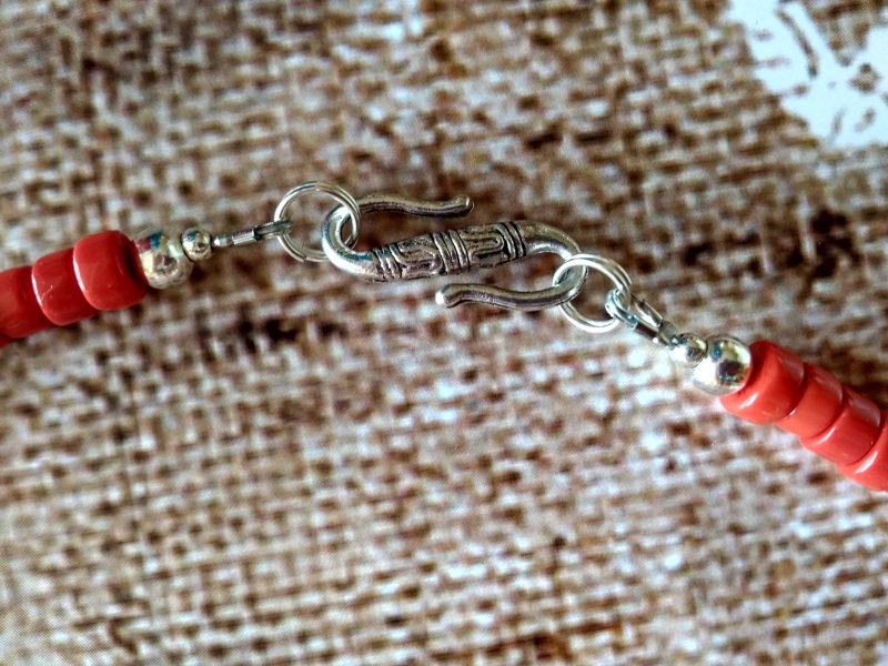 Ожерелье Колдунья Разноцветный индийские стеклянные буси Василенко Елена - фото 5