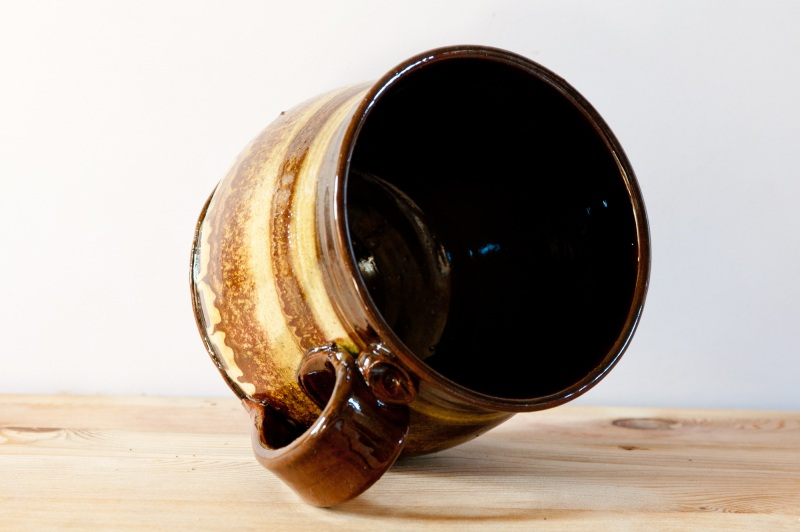 Чашка мраморная большая. Цена за пару  глина, глазурь, ангобы Величко Николай - фото 5