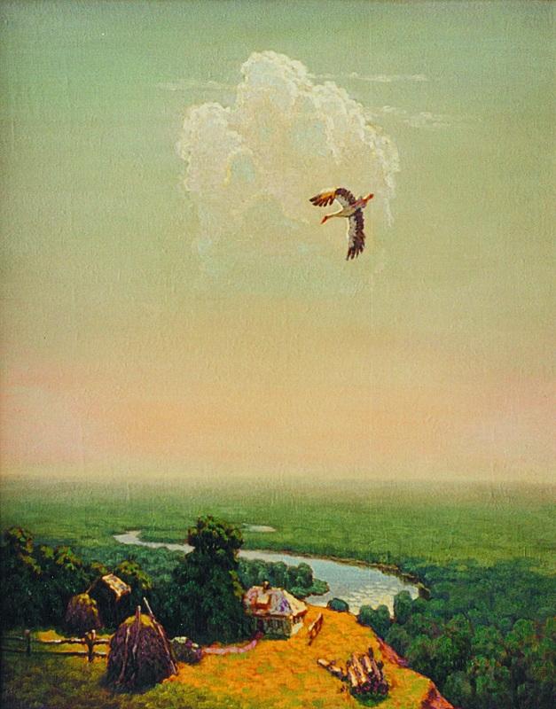 Хочу летать  холст, масло Волик Павел - фото 1