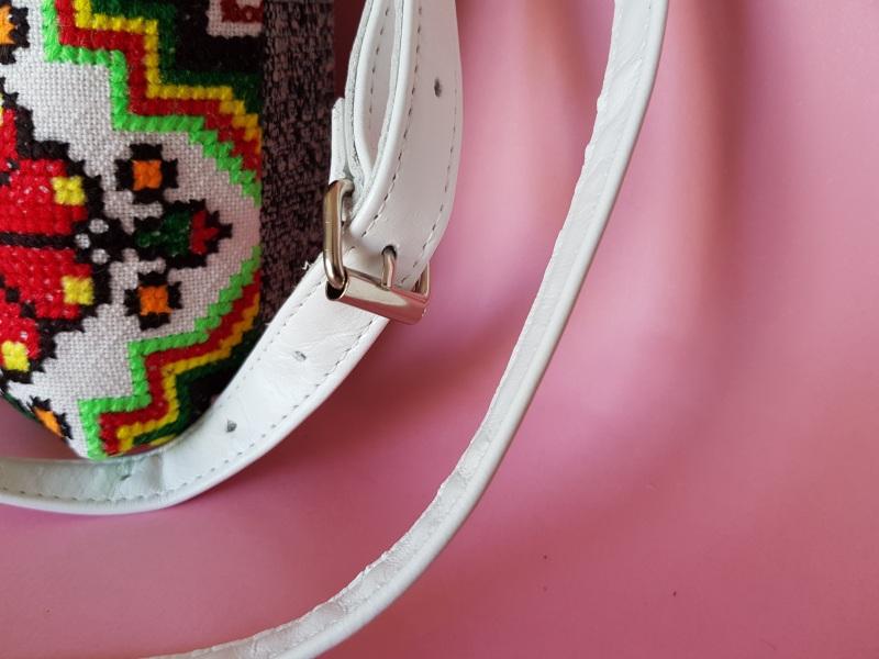 Сумка с аутентичной вышивкой  кожа, текстиль Ющенко Владимир - фото 2