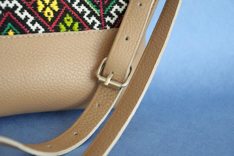 Сумка с аутентичной вышивкой  кожа, текстиль Ющенко Владимир - фото 4