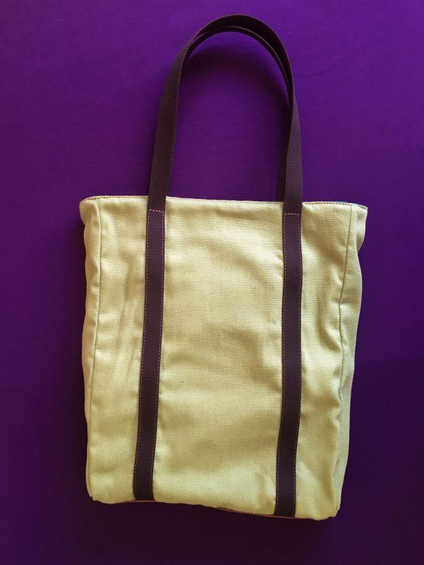 Женская тканевая сумка Желтый Ткань Афына Мирослава - фото 6