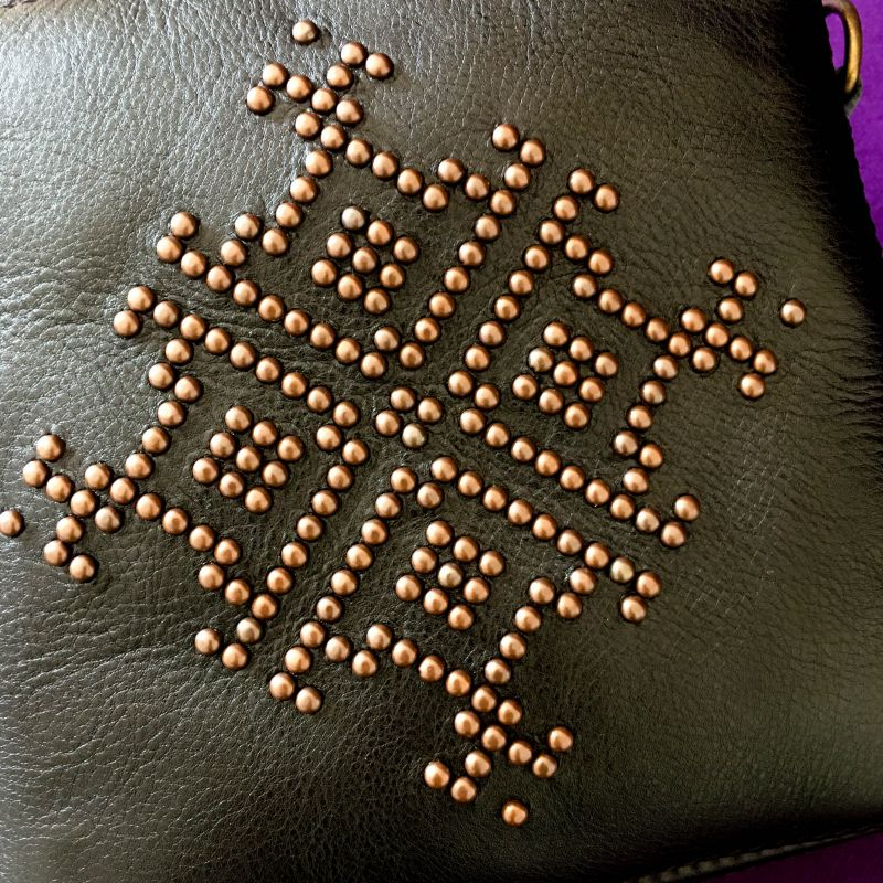 Женская кожаная сумка Черный Кожа Афына Мирослава - фото 9