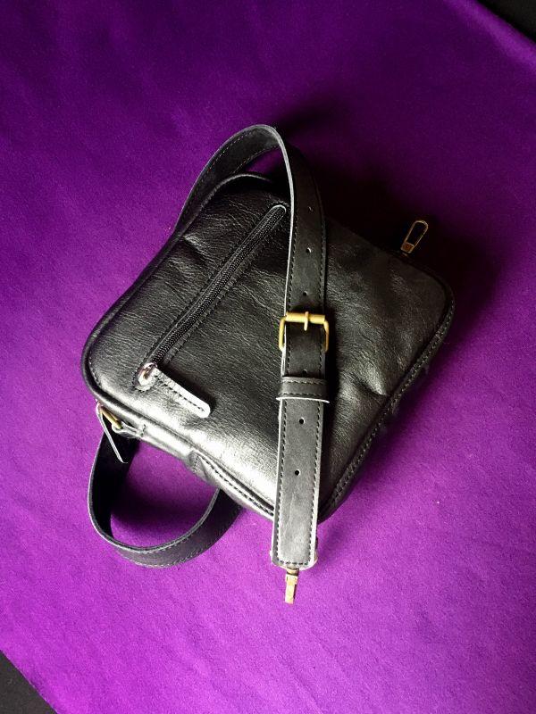 Женская кожаная сумка  кожа, ткань Афына Мирослава - фото 2