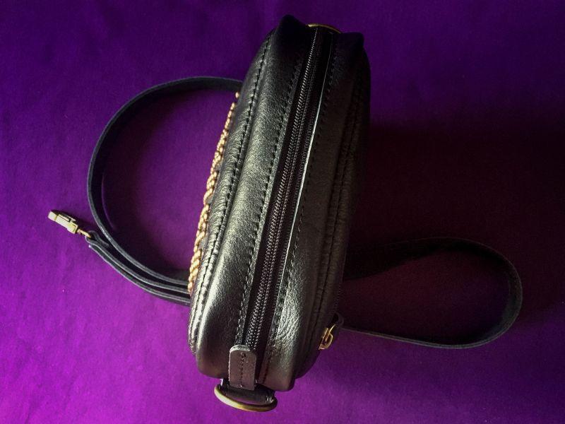 Женская кожаная сумка  кожа, ткань Афына Мирослава - фото 4