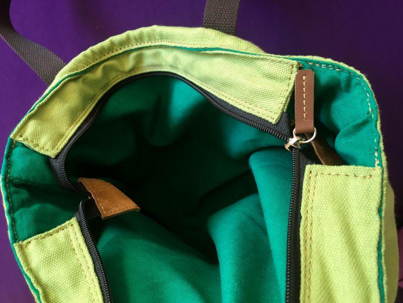 Женская тканевая сумка Желтый Ткань Афына Мирослава - фото 3