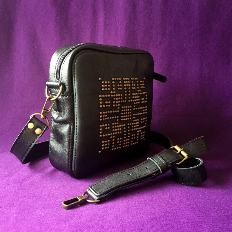 Женская кожаная сумка  кожа, ткань Афына Мирослава - фото 6