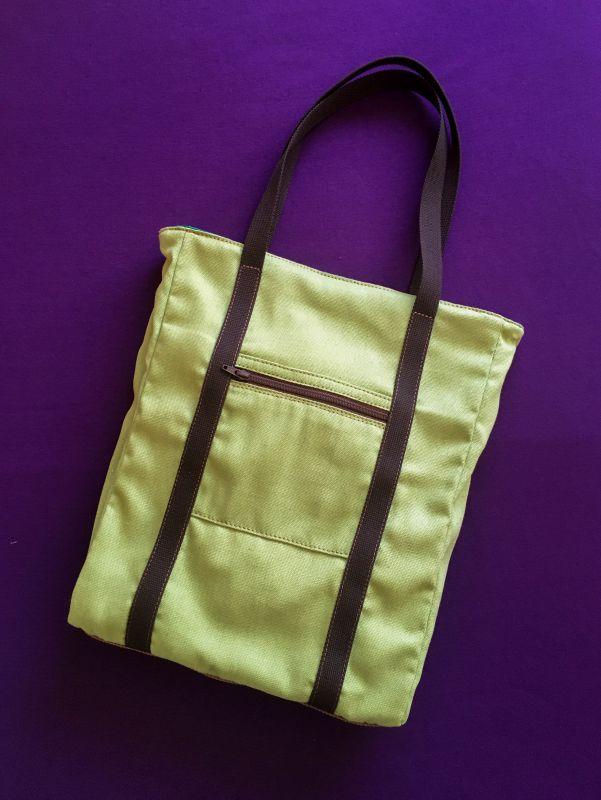 Женская тканевая сумка Желтый Ткань Афына Мирослава - фото 1