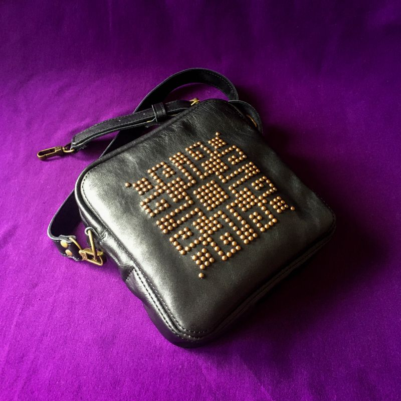 Женская кожаная сумка  кожа, ткань Афына Мирослава - фото 10