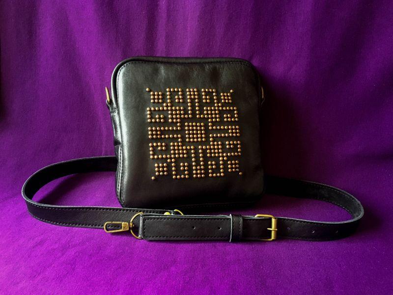 Женская кожаная сумка  кожа, ткань Афына Мирослава - фото 1