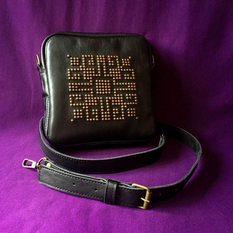 Женская кожаная сумка  кожа, ткань Афына Мирослава - фото 7