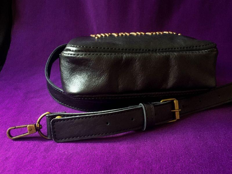 Женская кожаная сумка  кожа, ткань Афына Мирослава - фото 3