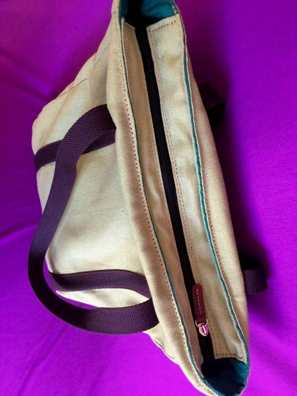Женская тканевая сумка Желтый Ткань Афына Мирослава - фото 2