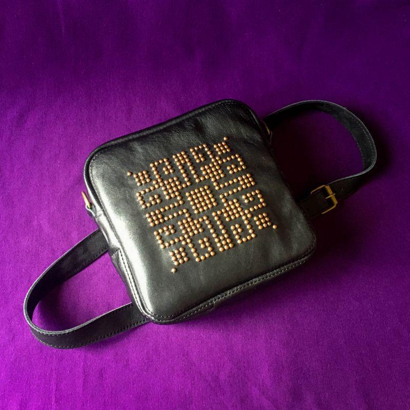 Женская кожаная сумка  кожа, ткань Афына Мирослава - фото 9