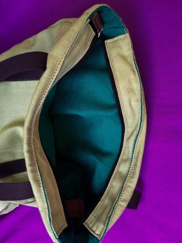 Женская тканевая сумка Желтый Ткань Афына Мирослава - фото 11