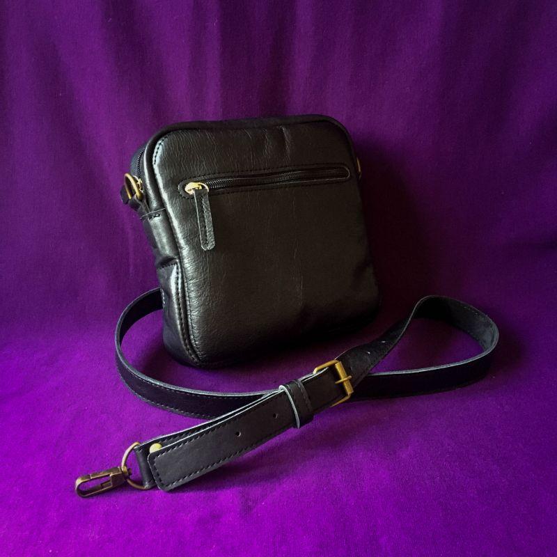 Женская кожаная сумка  кожа, ткань Афына Мирослава - фото 5