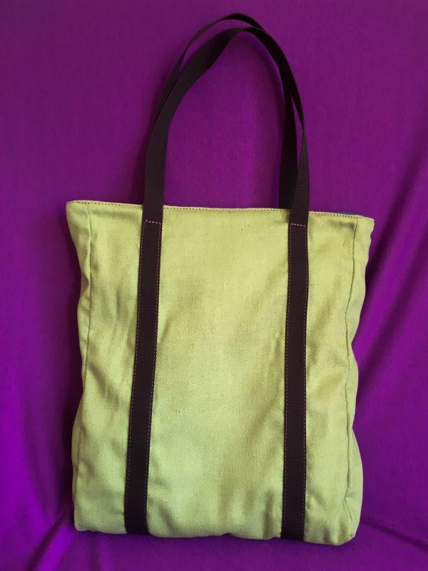 Женская тканевая сумка Желтый Ткань Афына Мирослава - фото 8