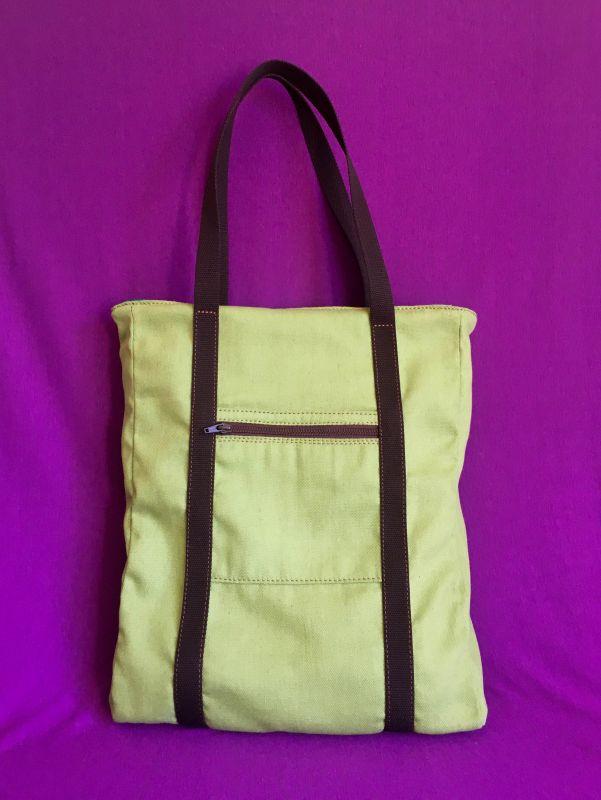 Женская тканевая сумка Желтый Ткань Афына Мирослава - фото 10
