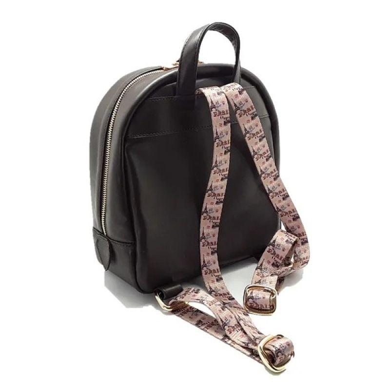 Рюкзак женский из натуральной кожи Черный Натуральная кожа Жушман Елена - фото 3
